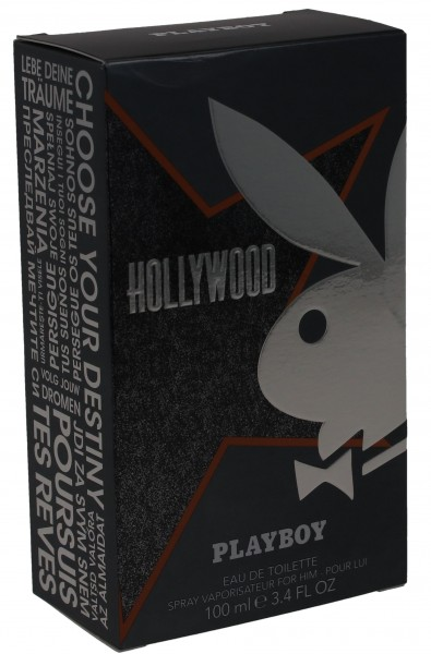 Playboy Hollywood Eau De Toilette 100ml Spray