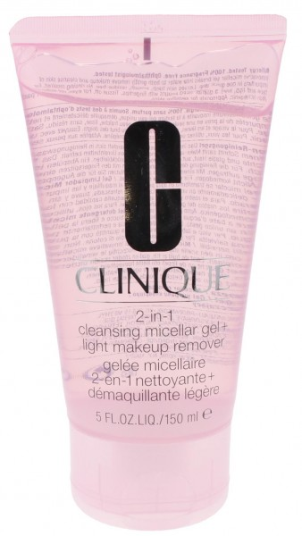 Clinique 2-in-1 Reinigungs Micellar Gel & Leichter Makeup Entferner 150ml