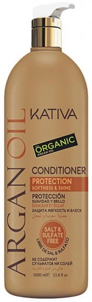 Kativa Arganöl Conditioner Protection, Softness & Shine 1000 m
