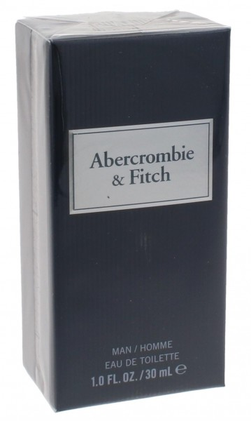 Abercrombie & Fitch First Inst. Blue Man Edt Spray 30ml