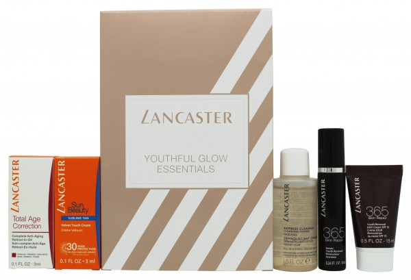 Lancaster Youthful Glow Essentials Gift Set 5 Pieces