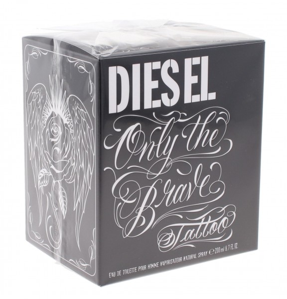 Diesel Only The Brave Tattoo Pour Homme Edt Spray 200ml