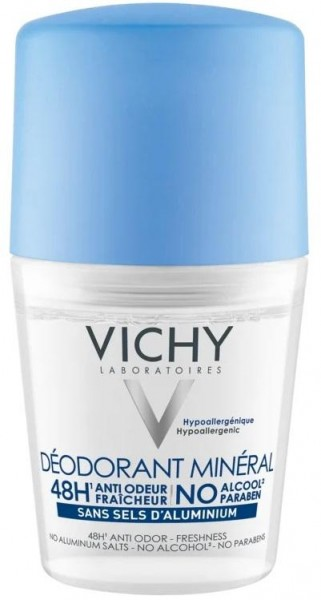 Vichy Deo Roll - On Mineral 48h (50 ml)
