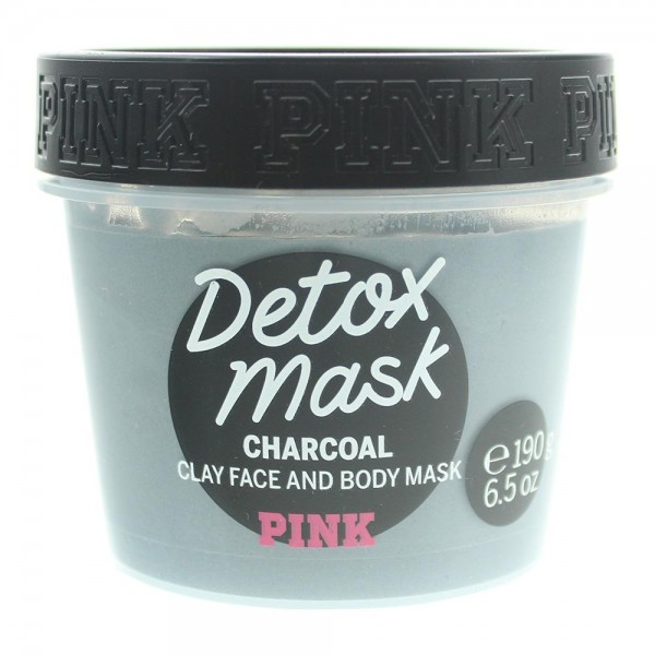 Victoria s Secret Pink Detox Charcoal Clay Face and Body Mask 190 g