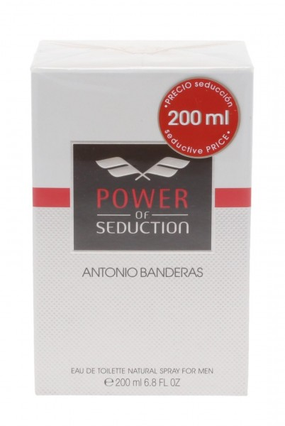 Antonio Banderas Power of Seduction Eau de Toilette 200ml Spray