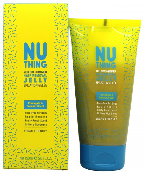 Nuthing Yellow Shimmer Hair Removal Jelly 150 ml