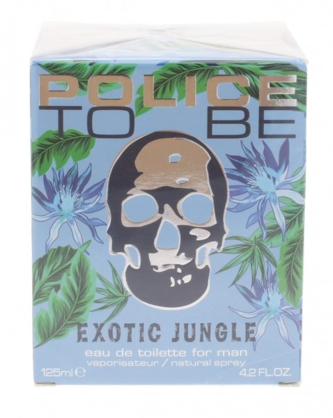 Police To Be Exotic Jungle For Man Eau de Toilette 125ml Spray