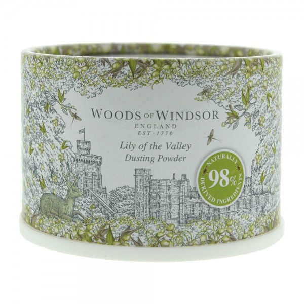 Woods of Windsor Lily of the Valley Dusting Powder 100 g
