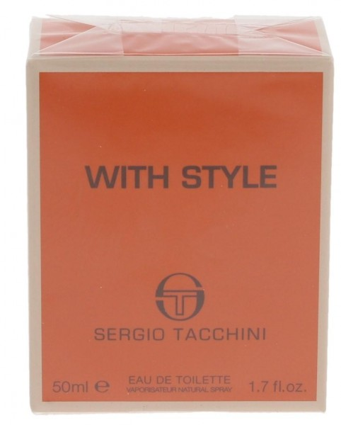 Sergio Tacchini With Style Eau de Toilette 50ml Spray
