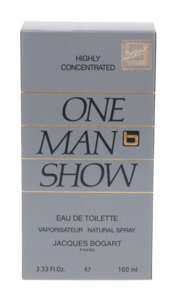 Jacques Bogart One Man Show Eau De Toilette 100ml Spray