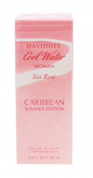 Davidoff Cool Water Sea Rose Caribbean EDT 100 ml summer 2018