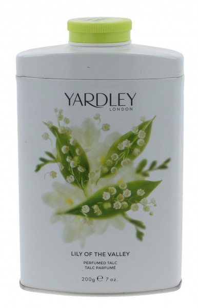 Yardley Lily of the Valley Parfumierter Körperpuder 200g