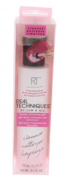 Real Techniques Makeup Brush Cleansing Gel 150ml