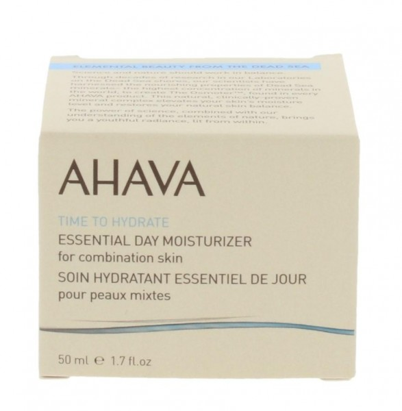 Ahava Time To Hydrate Essential Day Moisturizer Combination Skin 50 ml