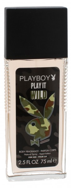 Playboy Play It Wild for Him Deodorant Spray 75ml