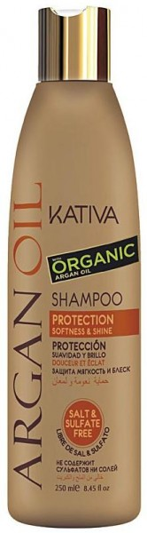 Kativa Argan Oil Shampoo Protection Softness & Shine 250 ml