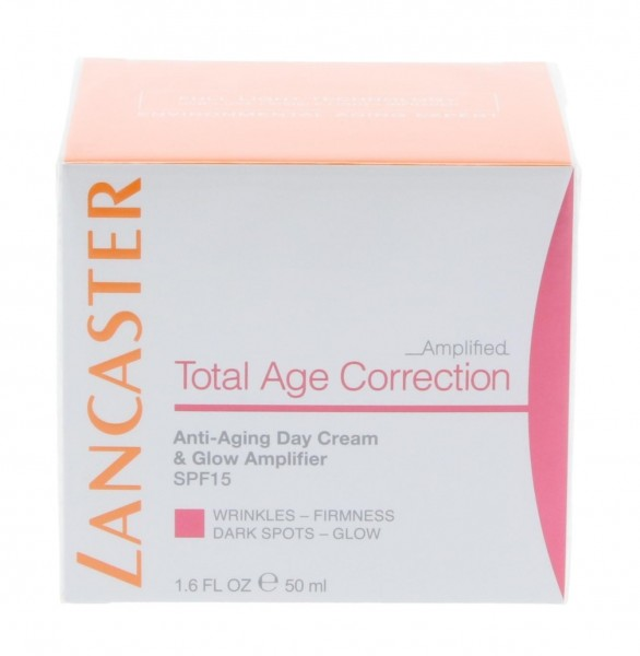 Lancaster Total Age Correction Amplified Day Cream & Glow Amplifier SPF15 50ml