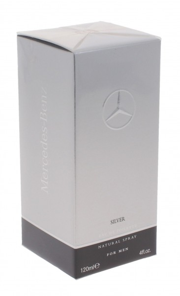 Mercedes-Benz Mercedes-Benz Silver Eau de Toilette 120ml Spray