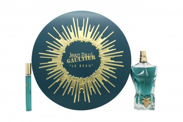 Jean Paul Gaultier Le Beau Gift Set 75ml EDT + 10ml EDT